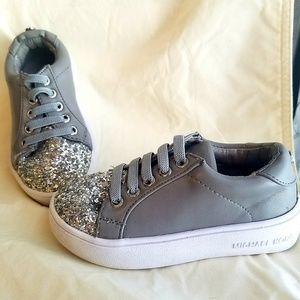 Toddler girl size 7 Michael Kors shoes.